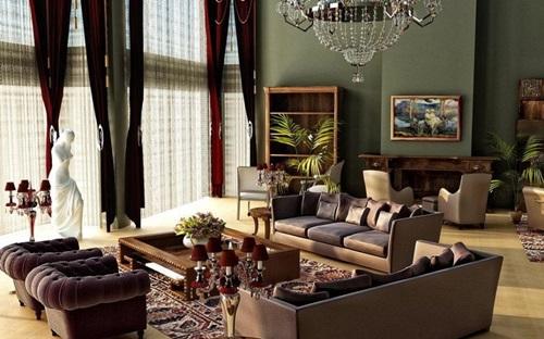 Victorian Living Room Curtain Ideas – Victorian Style - Interior ...