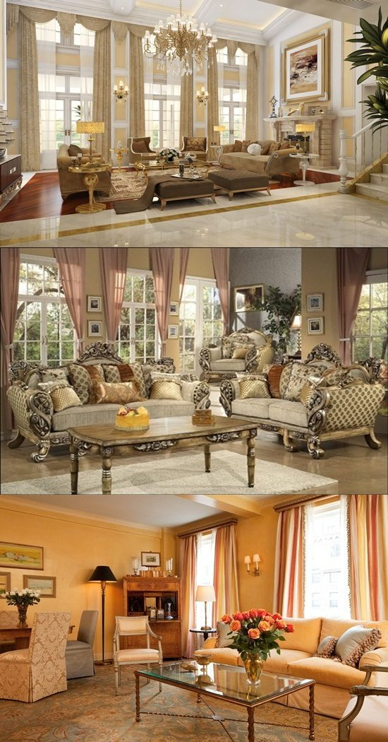 Curtain Design Ideas For Living Room: Victorian Living Room Curtain Ideas