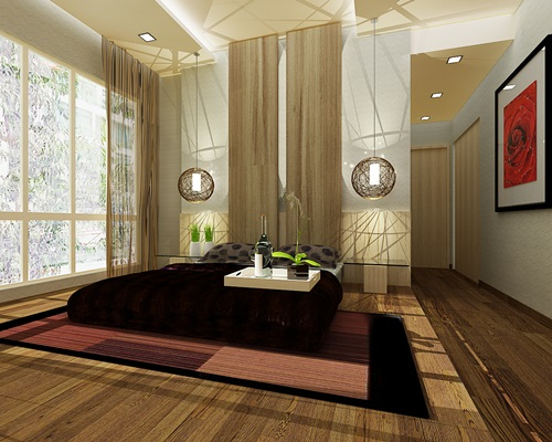 Zen bedroom interior design zen design interior design for Interior design zen style