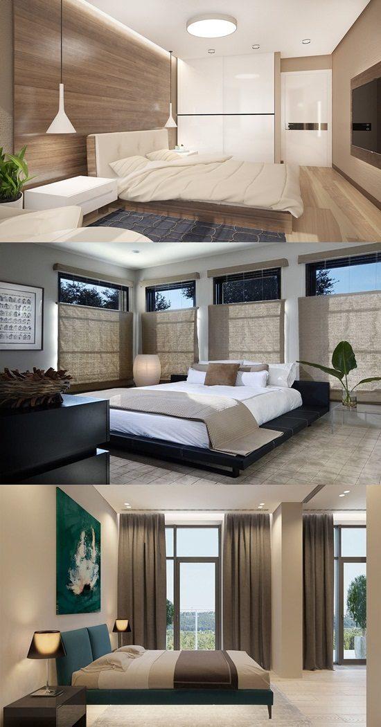 Interior Design Of Bed Rooms: Zen Bedroom Interior Design