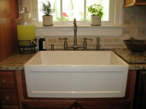 apron sink - What good kitchens are really about!