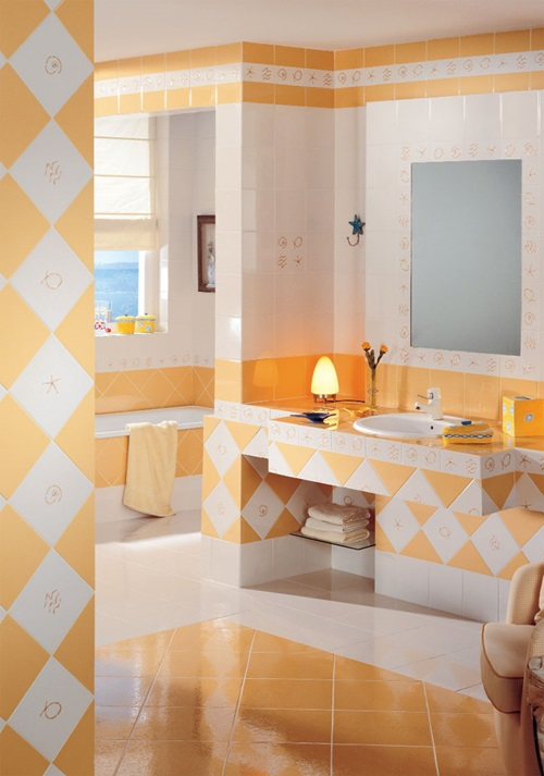 Modern bathroom design tiles and colors interior design Different design and colors of tiles