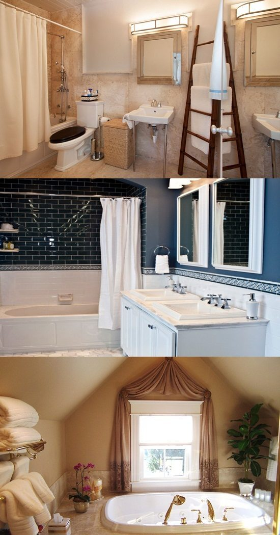 Cottage Bathroom Curtain Ideas – Home Decor