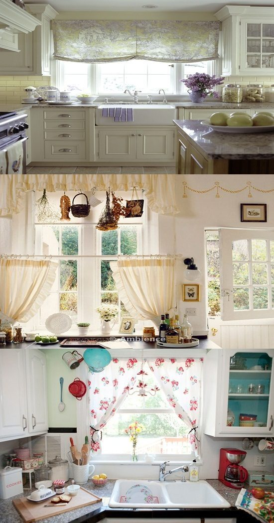 Cottage Kitchen Curtain Ideas – Cottage Curtain