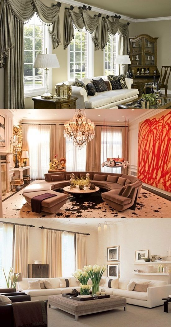 Room Curtain Design: Curtain Design Ideas Applicable To Your Living Room