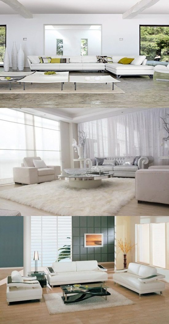 How to Arrange a White Living Room Correctly!
