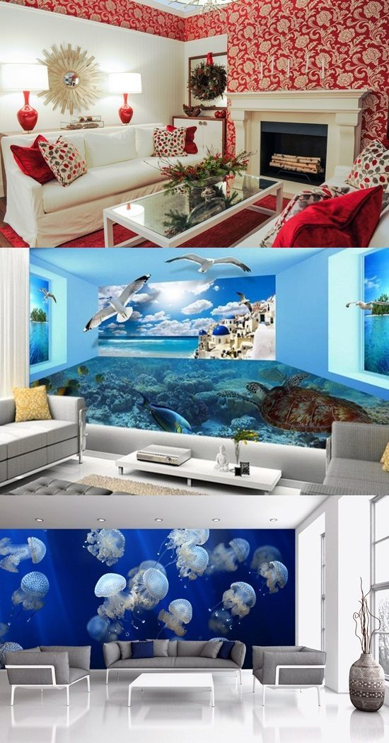 How to Choose the Ideal Wallpaper for your Living room