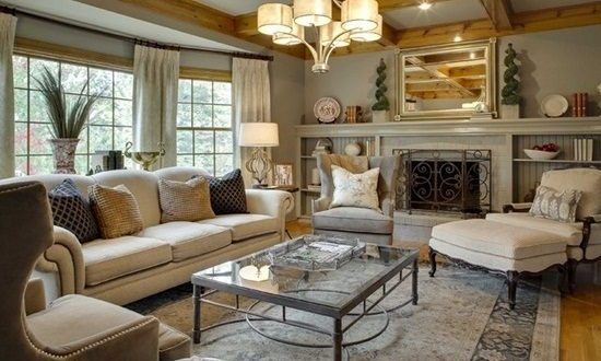 How to Organise a Traditional Living Room !
