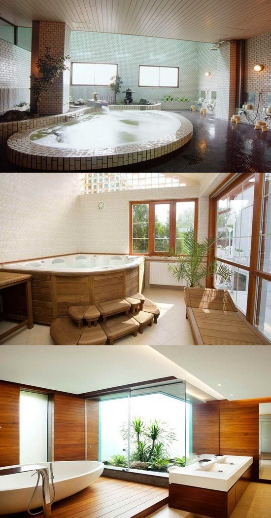 Japanese Bathroom Designs - Interior design