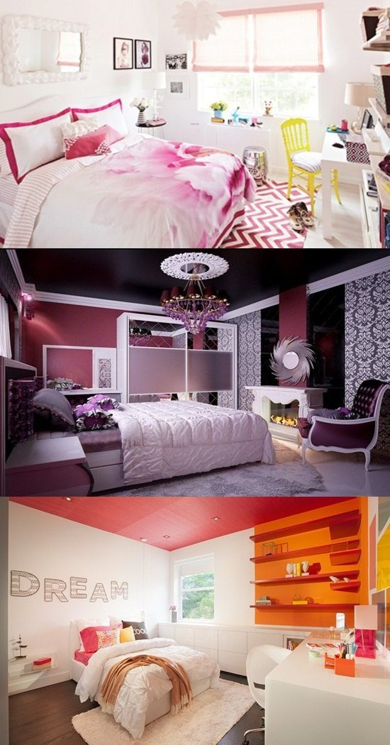 Teenage Girls' Bedrooms – Inspirational Ideas