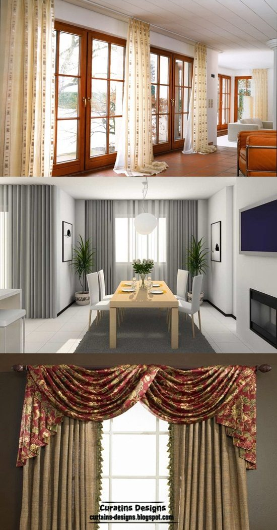 Best curtains styles design formal and informal for Best design
