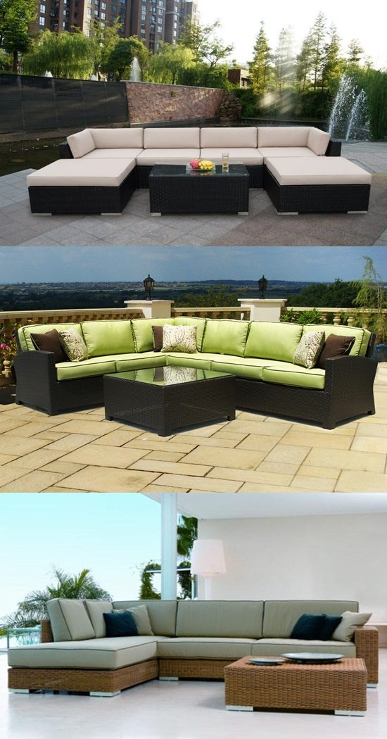 Wicker Patio Furniture Red Cushions: Durable Patio Furniture From Wicker And Rattan Sets