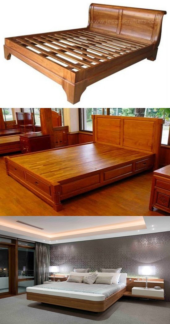 Indonesian Teak Furniture For Bedrooms Interior Design