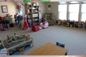 Living Room - Storage Spaces for the kids' Toys