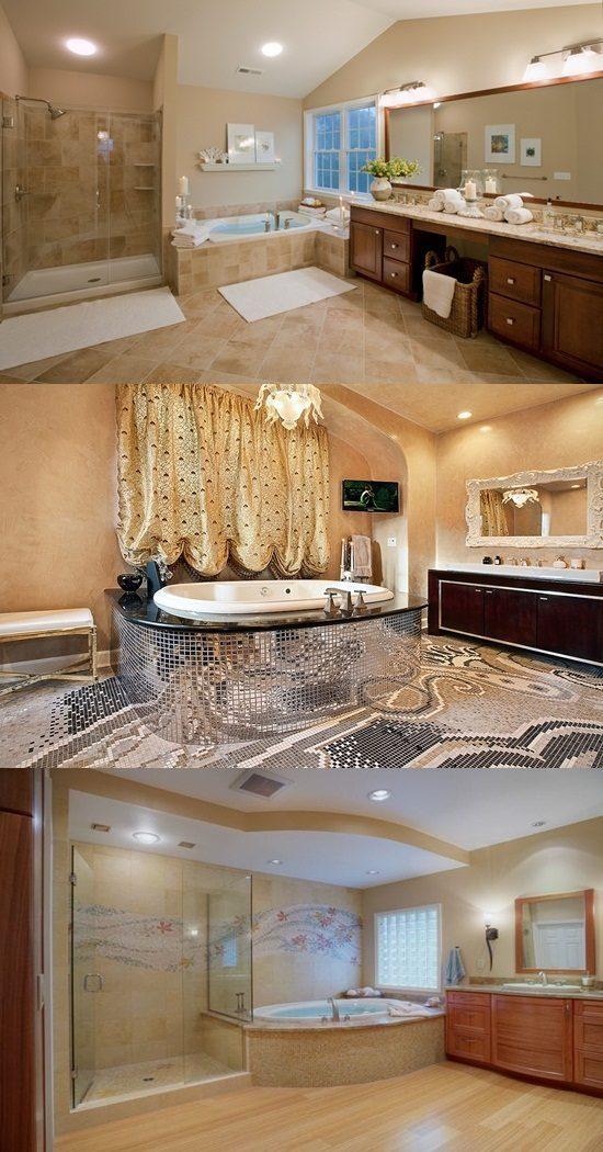 Master Bathroom Interior Designs – Simple and Luxurious