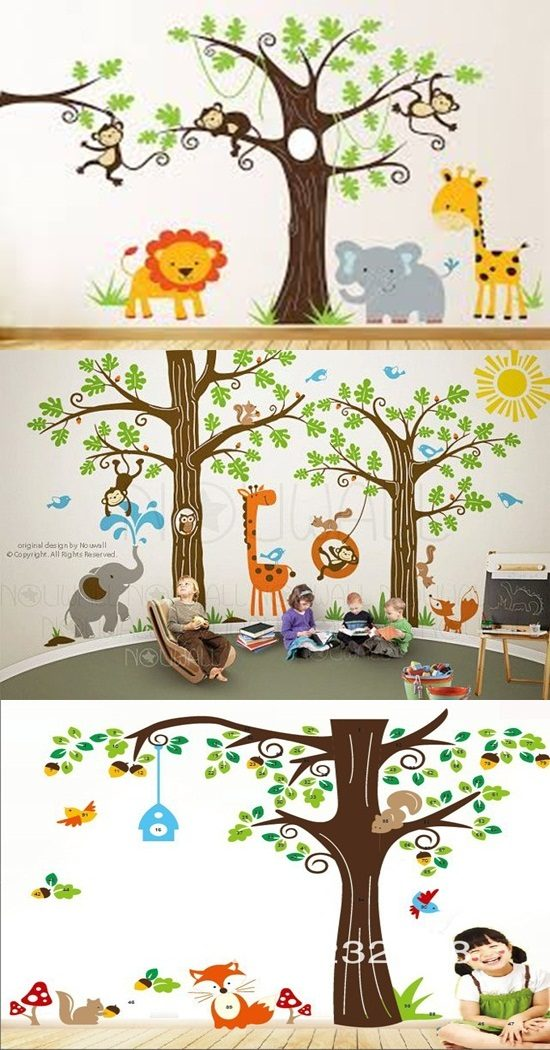 Wall stickers child s room best free home design for Interieur stickers
