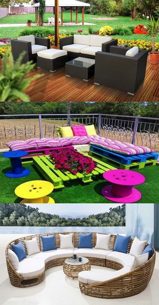 Outdoor Furniture – Clever Multi-purposed Furniture Ideas