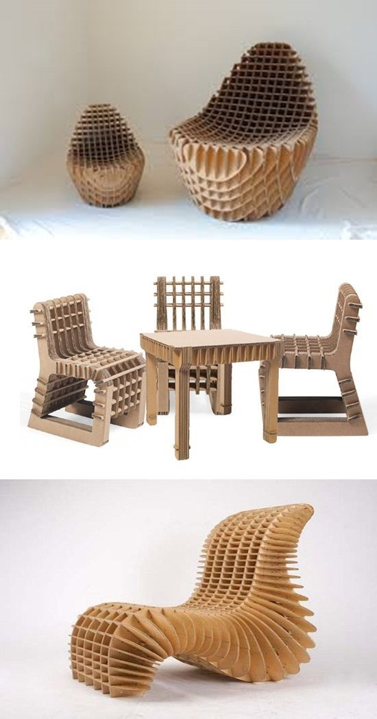 1261 Recyclable Cardboard Furniture