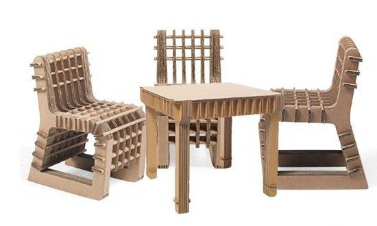 1261 Recyclable Cardboard Furniture