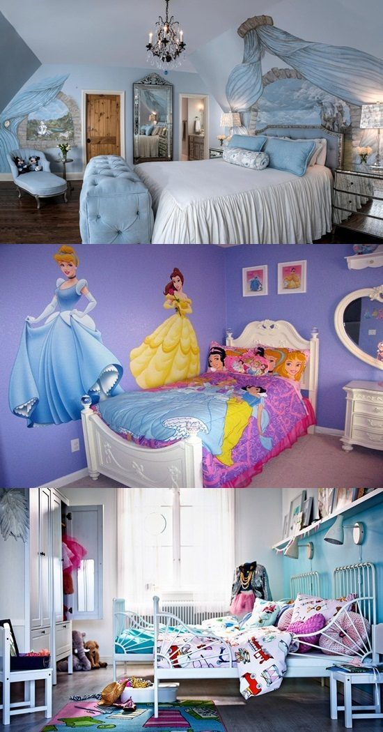 A Bed Room from a Fairy Tale for your Young Prince and Princess