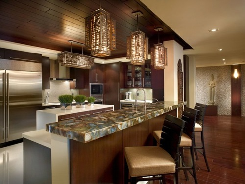 Amazing ideas to decorate a modern asian kitchen for Authentic chinese cuisine for the contemporary kitchen