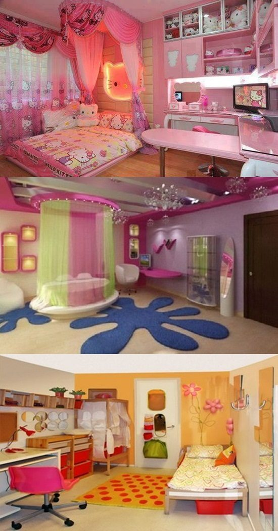 Amazing Ideas to Decorate your Teenager Son or Daughter's Bedroom