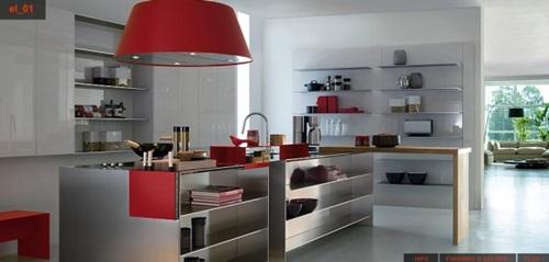 Amazing Minimalist Stainless Steel Kitchen Ideas
