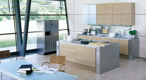 Amazing Minimalist Stainless Steel Kitchen Ideas