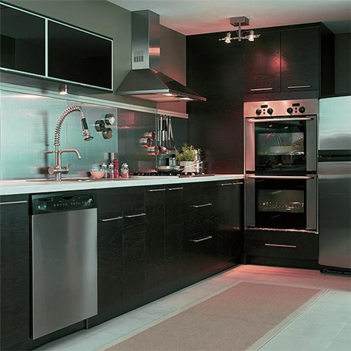 Amazing modern stainless steel kitchen design ideas for Stainless steel kitchen ideas