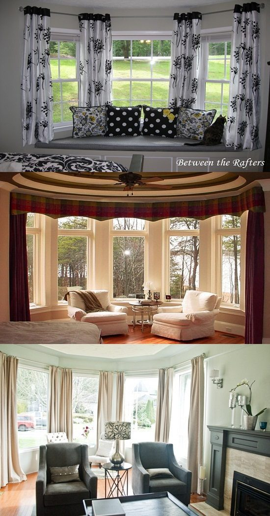 An Amazing Curtain for an Amazing Bay Window