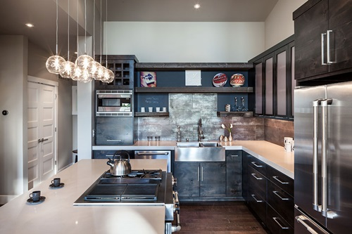 Charming Rustic Kitchen Ideas And Inspirations: Charming Rustic And Contemporary Kitchen