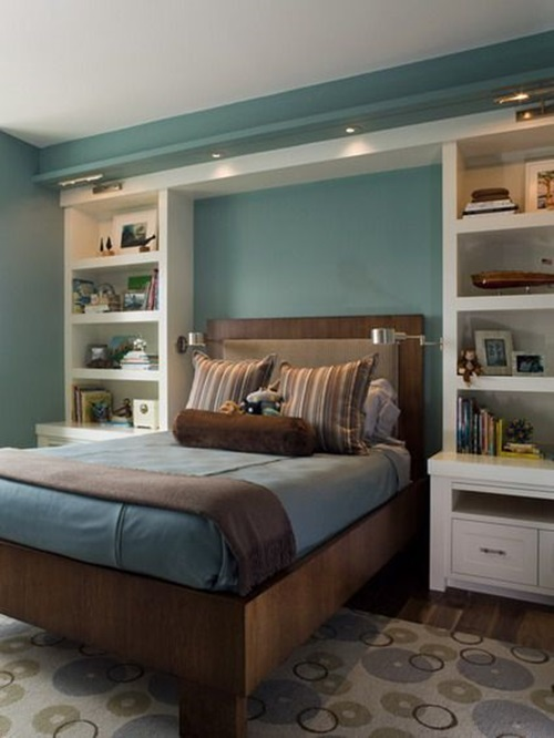 clever ideas designs to ctreate storage space in your small bedroom