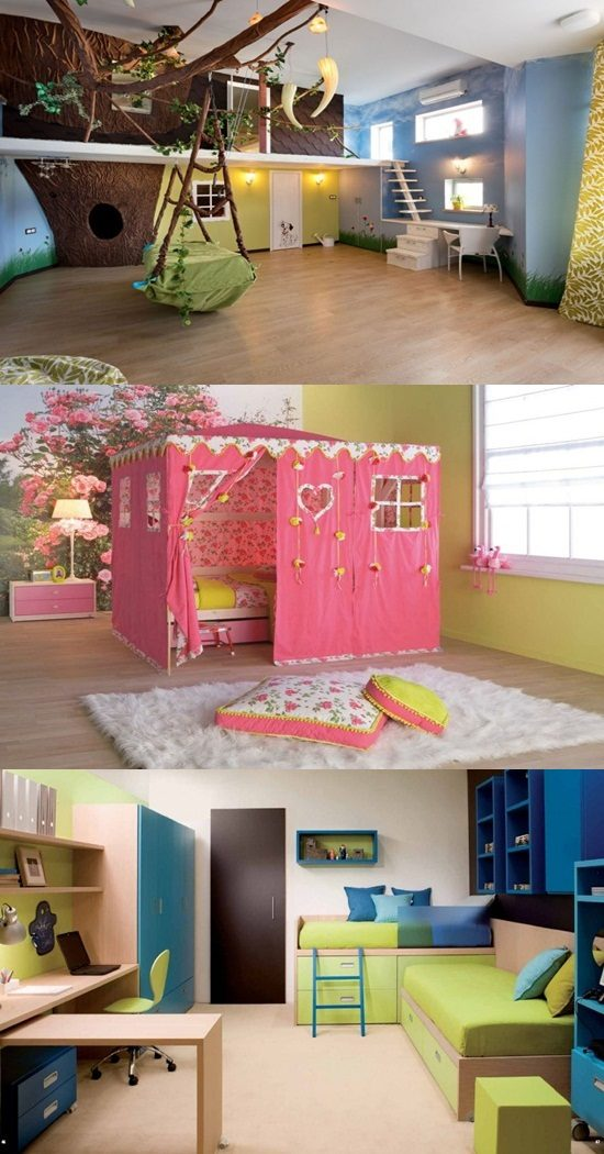 Creative, Beautiful And Cheap Ideas To Decor Your Kid's