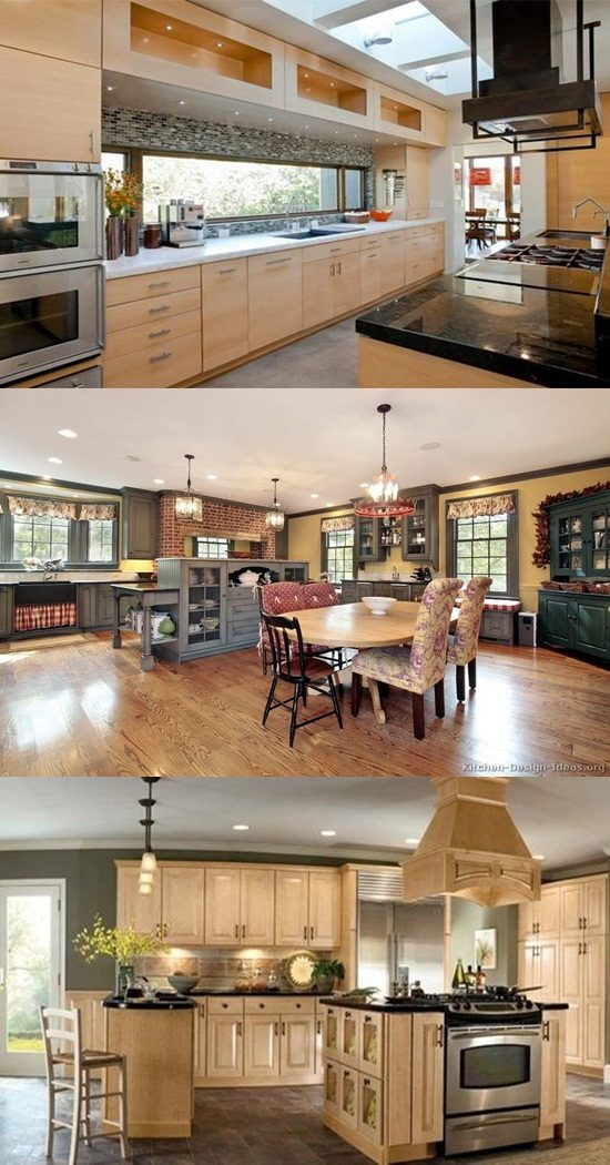 Discovering kitchen remodeling ideas designs from for Different kitchen design ideas