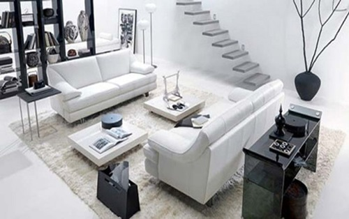 Do You Like White? How about White Living Rooms?