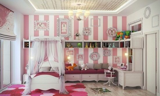 How to Design a Wonderful Young Girl's Bedroom