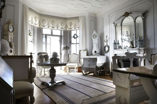 How to have a Chic Interior DecorationusingBaroque Curtain Ideas