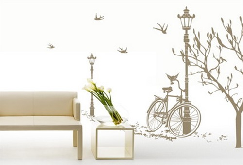 Interesting Ideas to Decorate your Home with Wall Decals