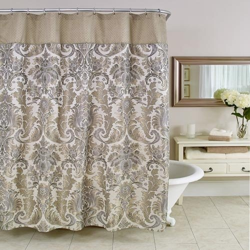 Bathroom Curtains How To Choose Them And Also Keep The Bathroom Clean And He