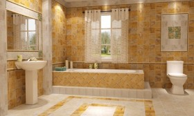 Bathroom Curtains, How to Choose them and also keep the Bathroom Clean and Healthy