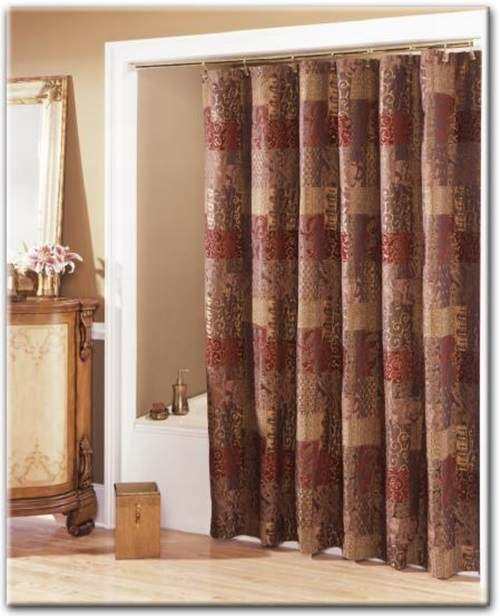ready made bathroom curtains | My Web Value