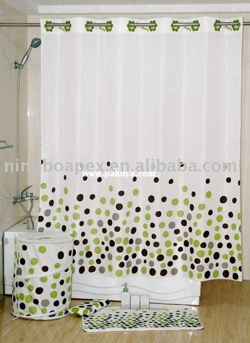 Luxury Bathroom Window Ready Made Curtains