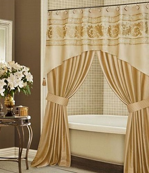 How to choose your luxury shower curtain interior design Bathroom decor ideas with shower curtain