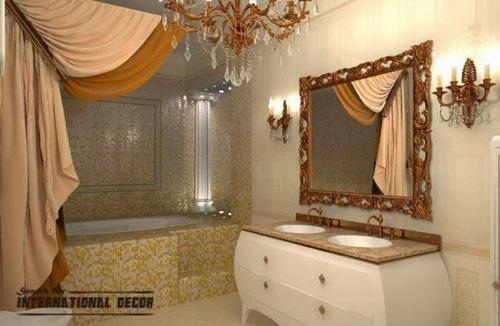 Luxury shower curtains