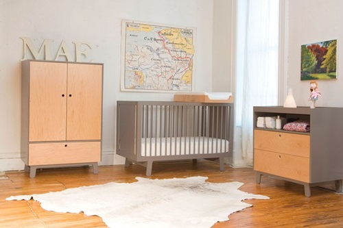 Magical stylish modern nurserys furniture