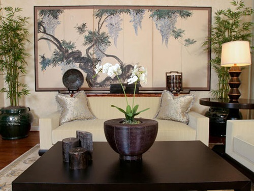 Modern asian living room decorating ideas interior design for Asian room decoration