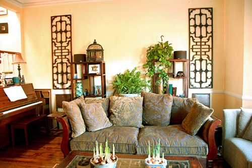Modern Asian Living Room Decorating Ideas - Interior design