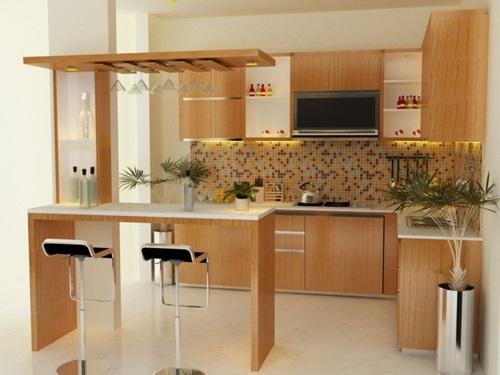 Striking Futuristic Kitchen