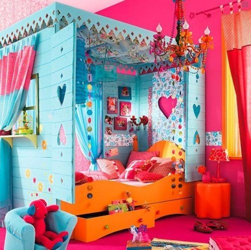 Colorful Kids Room Design: The Importance Of Decorating A Colorful Kid's Room