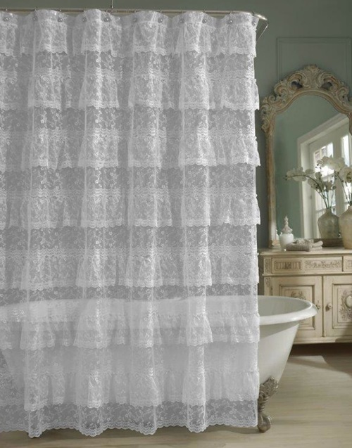 The Importance Of The Shower Curtains And Having A Beautiful Homey Bathroom Interior Design